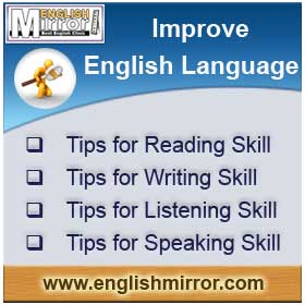Guide to Improve English Language