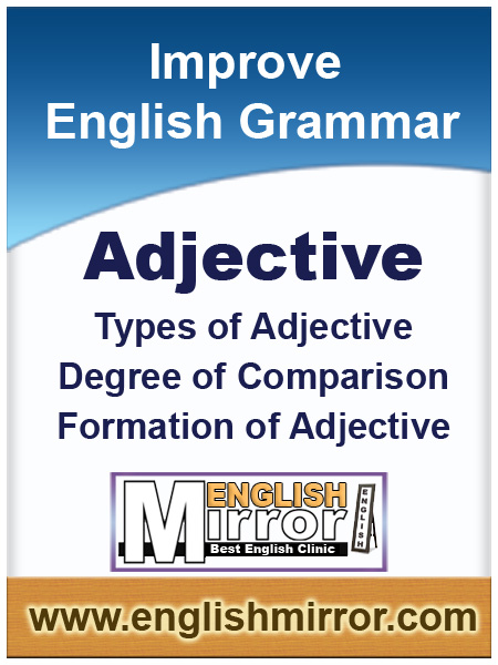 Adjective in English language