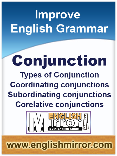 Conjuctions in English language