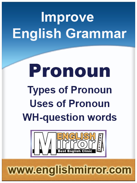 Pronoun in English language
