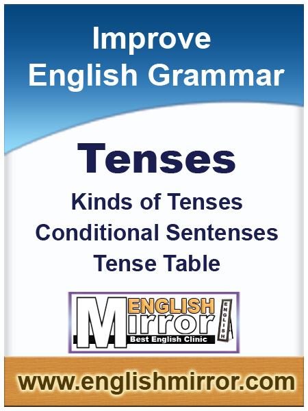 Tenses of English language