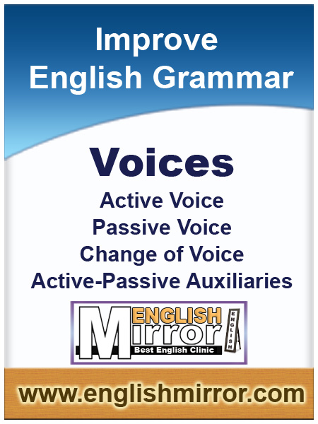 Active and Passive Voices in English language