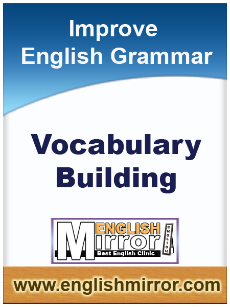 Vocabulary building in English language